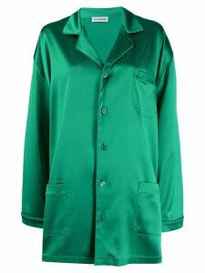 Balenciaga pyjama pocket shirt - Green