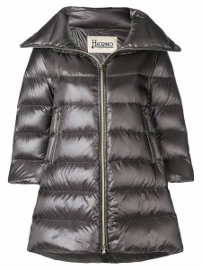 Herno padded zipped coat - Grey