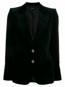 Tom Ford velvet two-button blazer - Black