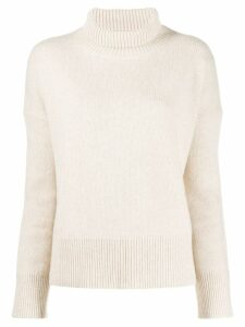 Vanessa Bruno turtleneck jumper - Neutrals