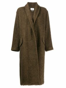 Isabel Marant Étoile oversized coat - Green
