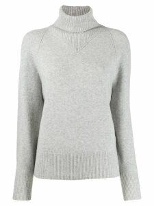 Joseph turtle neck knitted sweater - Grey