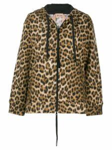 Nº21 leopard print jacket - Brown