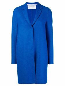 Harris Wharf London cocoon pea coat - Blue
