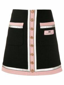 Elisabetta Franchi button-up skirt - Black