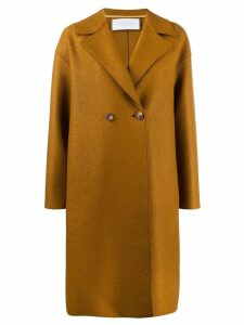 Harris Wharf London double-breasted coat - Brown