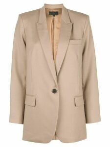 Nili Lotan single-breasted blazer - NEUTRALS