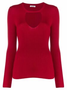 P.A.R.O.S.H. ribbed jumper - Red