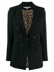 Veronica Beard boxy fit blazer - Black