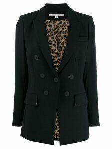 Veronica Beard boxy fit blazer - Black