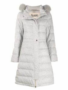 Herno hooded padded coat - Grey