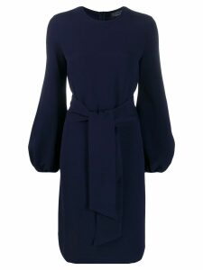 Gianluca Capannolo tie waist dress - Blue