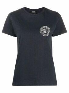 A.P.C. Tess T-shirt - Blue