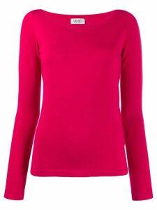 Liu Jo round neck jumper - Pink