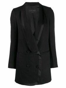 Christian Pellizzari slim-fit double-breasted blazer - Black
