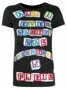 Philipp Plein statement T-shirt - Black