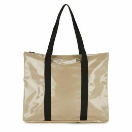 Rains Camel Holographic Tote