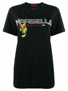 Diesel Marsella print T-shirt - Black
