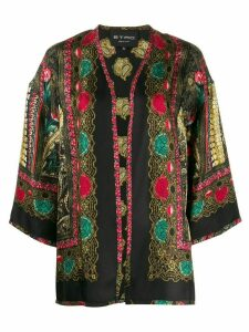 Etro all-over print jacket - Black