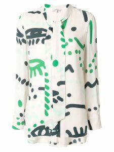 Layeur Borden blouse - Neutrals