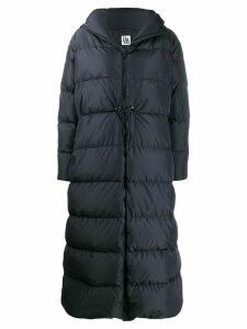 Bacon hooded padded coat - Blue