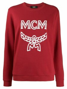 MCM Logo Group sweatshirt - Red