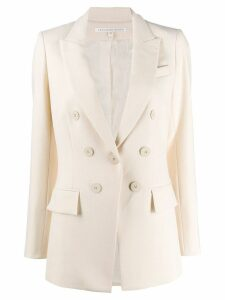 Veronica Beard boxy fit blazer - White