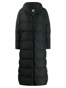 Bacon hooded padded coat - Black