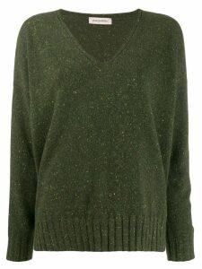 Gentry Portofino oversized cashmere jumper - Green