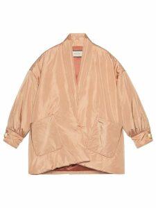 Gucci oversized puffer jacket - Neutrals