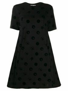 McQ Alexander McQueen Spot motif T-shirt dress - Black