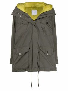 Aspesi hooded parka coat - Green