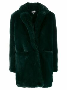 Apparis faux fur coat - Green