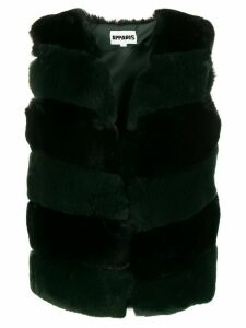 Apparis Ritana faux fur padded vest - Black