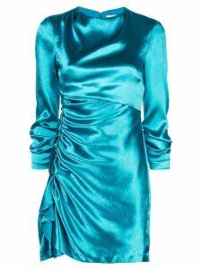 Cinq A Sept Natalia draped dress - Blue
