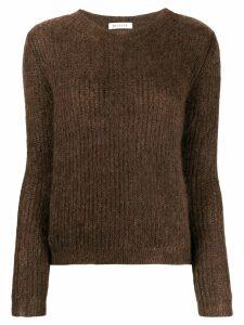 Masscob round neck jumper - Brown