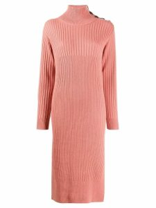 See By Chloé knitted jumper dress - Pink