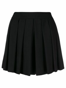 Boutique Moschino pleated mini skirt - Black
