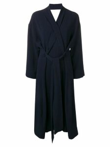 Henrik Vibskov wrap dress - Blue