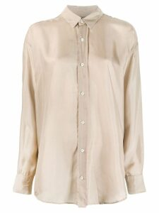 Katharine Hamnett London Nicola silk shirt - Neutrals