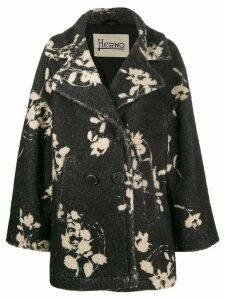Herno negative flower coat - Grey
