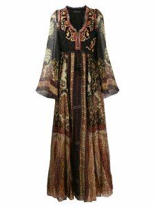 Etro Moroccan mosaic maxi dress - Black