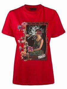 Etro graphic print T-shirt - Red