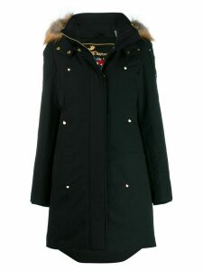 Moose Knuckles hooded parka - Black