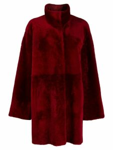 Drome fantasy fur coat - Red