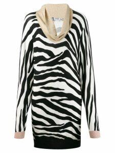 Liu Jo zebra print dress - Black