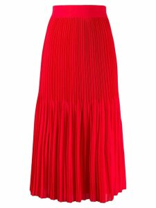 Alice+Olivia flared pleated skirt