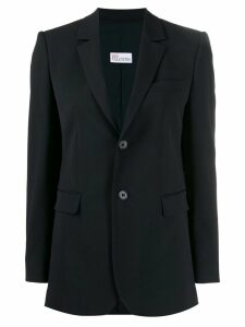 Red Valentino single-breasted blazer - Blue