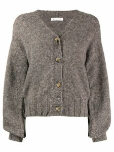 Masscob V-neck cardigan - Brown