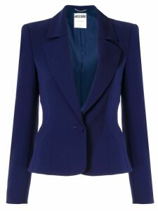 Moschino cropped blazer - Purple